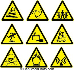 warning signs set 2