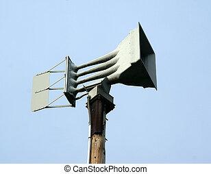 Warning Siren - Severe weather warning siren...
