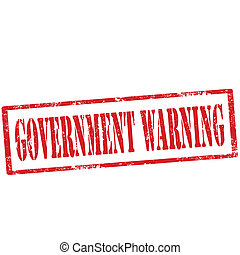 warning-stamp, gouvernement