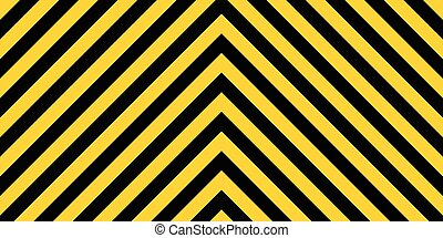 warning striped rectangular background, yellow and black stripes on diagonal in different directions, a warning to be careful - the potential danger the size of the load vector sign template