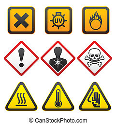 Warning symbols - Hazard Signs
