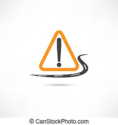 warning triangle icon