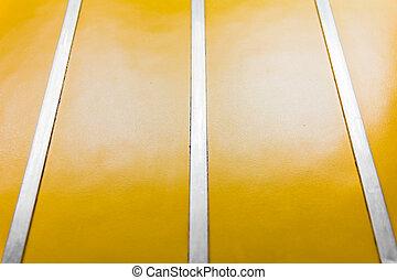 warnung, hintergrund, mit, gelbe streifen