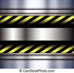 warnung, streifen, hintergrund