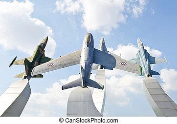 warplane monument