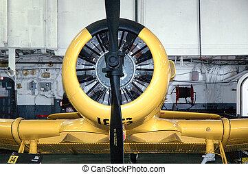 Warplane - World War 2 era Corsair, a United States...