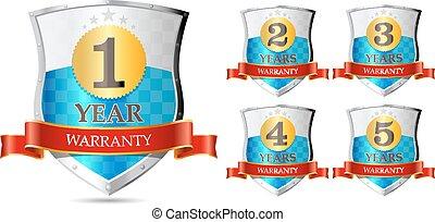 Warranty - 1, 2, 3, 4, 5, two years