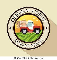 warranty seal original coffee with car