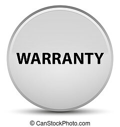 Warranty special white round button