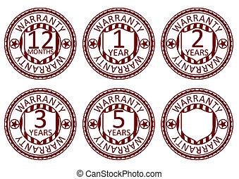 Warranty stamps