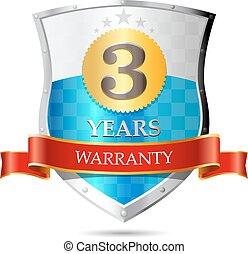 Warranty - three years