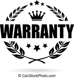 Warranty vector icon
