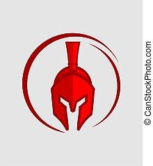 Warrior - Great red warrior icon