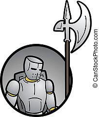 Warrior icon - Creative design of warrior icon