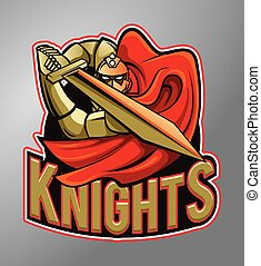 Warrior Knights Mascot