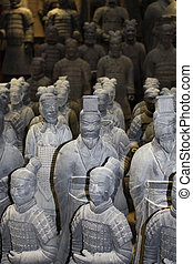 Warriors of Terracotta Army in Xian, China