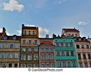 Warsaw old city also called in polish Stare Miasto