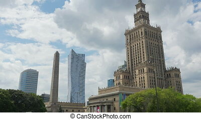 Warsaw, Poland, culture science palace, Stalin building, -...
