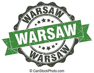 Warsaw round ribbon seal