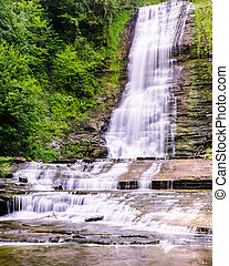 Warsaw Water Falls, Warsaw New York Falls, Warsaw New York