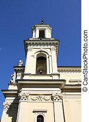 Warsaw - Wilanow - Warsaw, Poland. Collegiate church of ...