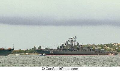 Warship - Parade of the Navy.
