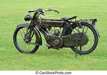 wartime motorbike