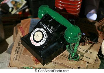 Wartime telephone - A scramble telephone in a war room