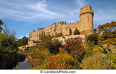 Warwick Castle - Warwick castle dates from ten sixty eight,...