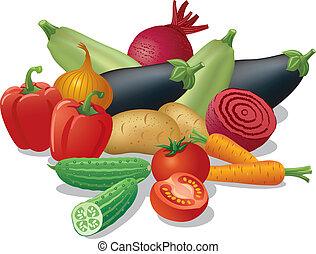 warzywa, żniwa