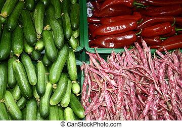 warzywa, tło