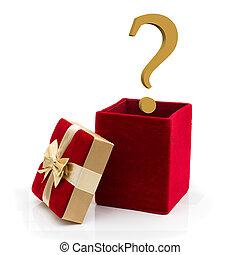 was, geschenk, geben