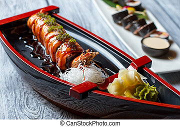 wasabi., sushi, barca