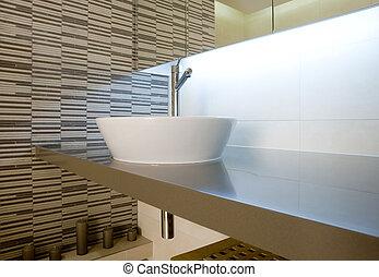 Badezimmer klassisch zwei color sinken beige stockfoto fotografien und clipart fotos - Badezimmer zwei waschbecken ...
