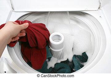 waschen kleidung