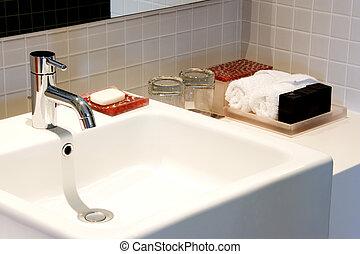 Wash Basin - Image of a nice and clean wash basin.