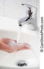 Wash hands. New protection against swine flu HN1