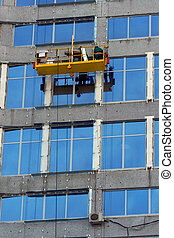 Washermen of windows