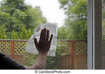 Washing a Window