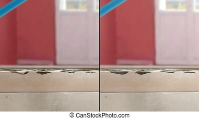 Washing dirty floor Animation - High quality Demo for Your...