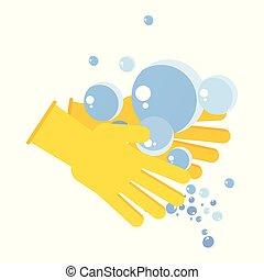 washing hand concept