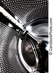 Washing Machine background - Background abstract of a...