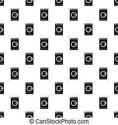 Washing machine pattern, simple style