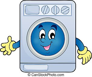 Washing machine theme image  - Washing machine theme image