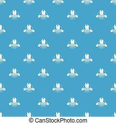 Washing service pattern vector seamless blue