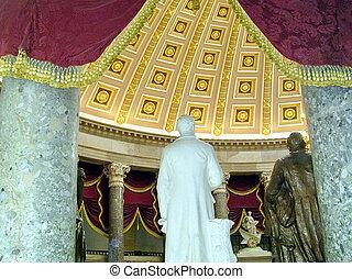 washington 州議事堂, ∥, 別れなさい, 彫像ホール, 2004
