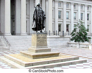 Washington Albert Gallatin Statue 2011