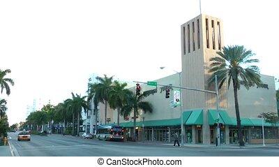 Washington Avenue - MIAMI - FEBRUARY 2: Washington Avenue is...