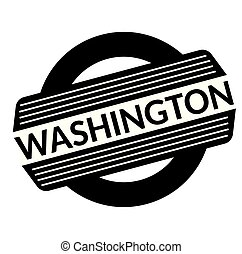 washington black stamp