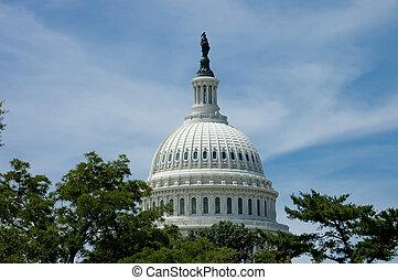 Washington Capitol dome
